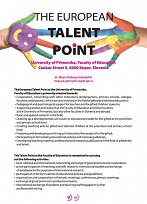 Talent point plakat